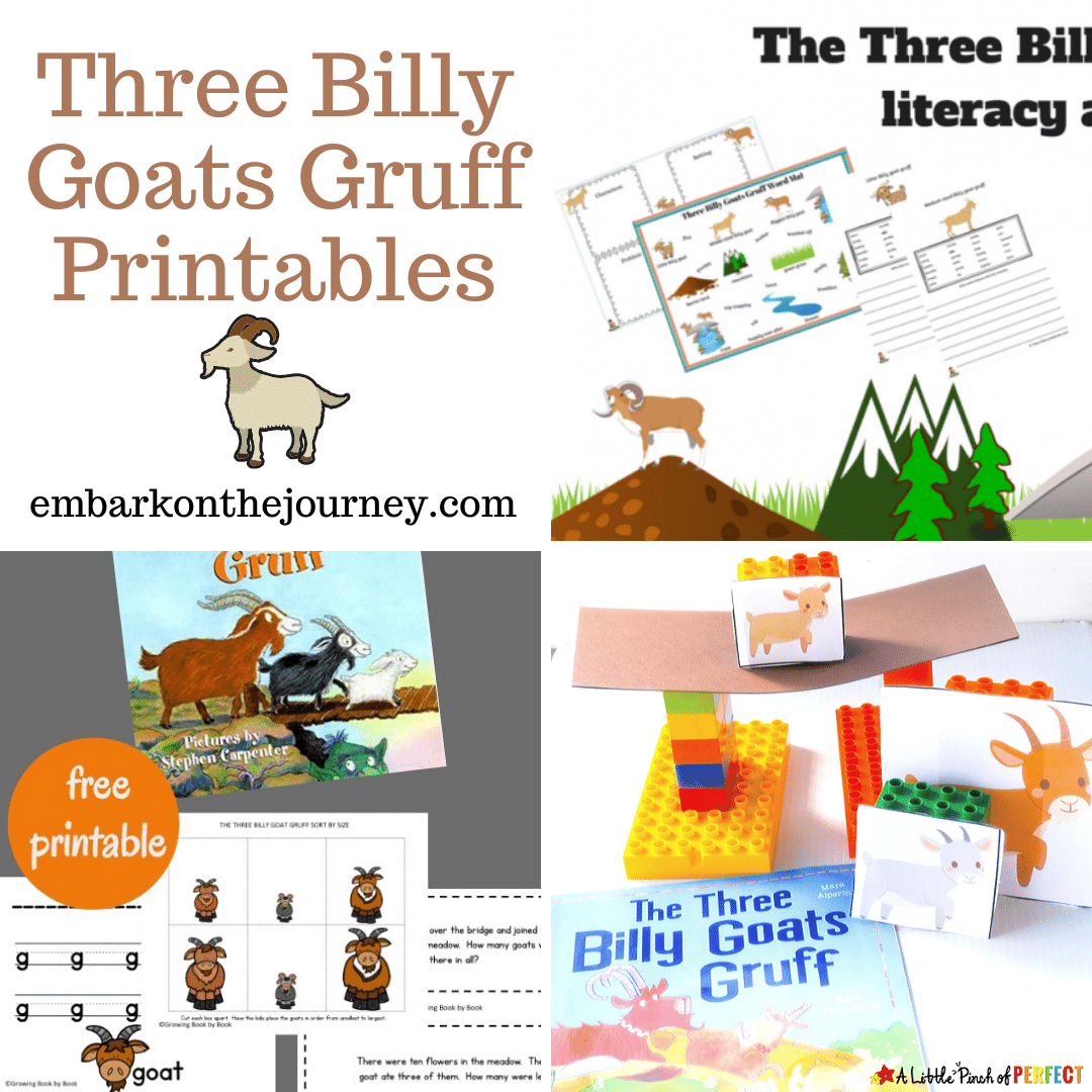 Free Three Billy Goats Gruff Printables For Ages 3 10