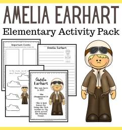 Amelia Earhart Worksheets - Embark on the Journey [ 1080 x 1080 Pixel ]
