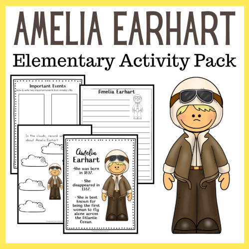 small resolution of Amelia Earhart Worksheets - Embark on the Journey