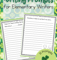 Printable March Writing Prompts for Elementary Students [ 1500 x 1000 Pixel ]