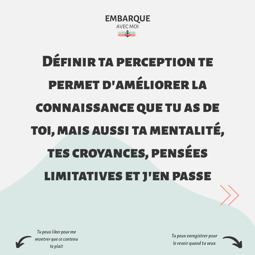 comment se construit la perception de soi