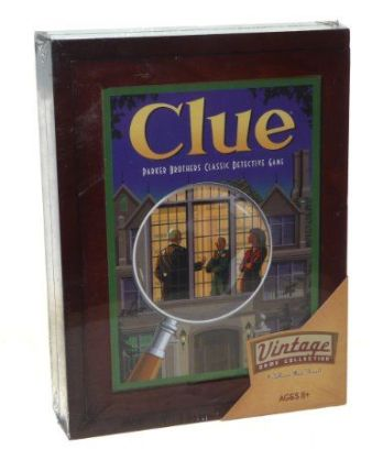 Amazon.com, Vintage Clue Game $45