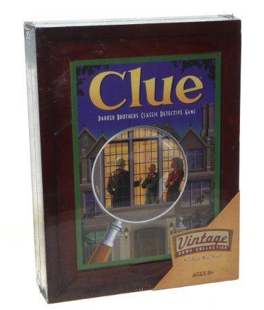 Amazon.com, Vintage Clue Game $45