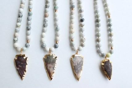 Everlasting Joy Arrow Necklace- $48