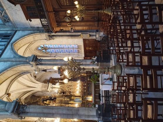 L'intérieur de la Cathédrale de Saint-Omer