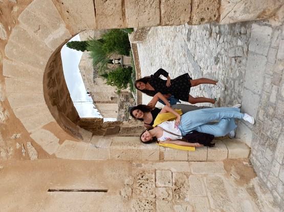 L'entrée du château d'Alicante