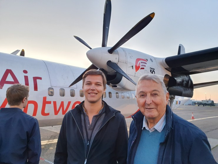 Embarquement Air Antwerp