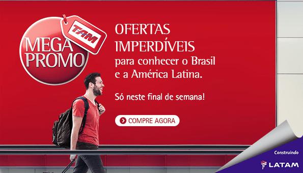 TAM e TAM Viagens realizam segunda Megapromo do ano com ofertas para viajar no Brasil e na América Latina