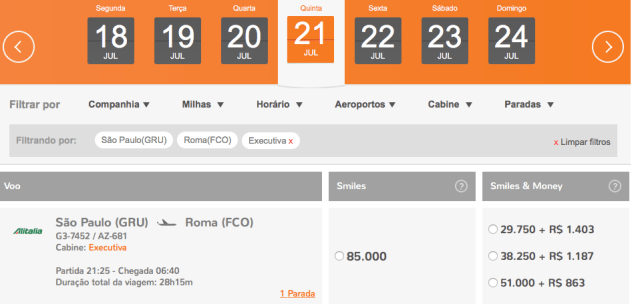 Promoção! Viaja á Itália em classe executiva por R$3.200,00!
