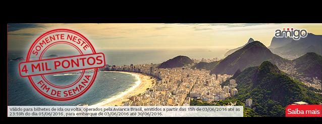 Programa Amigo credita o dobro de pontos para quem voar de Avianca Brasil em setembro e outubro