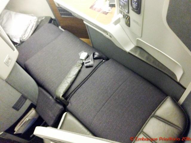 Classe executiva da American Airlines de São Paulo para Dallas