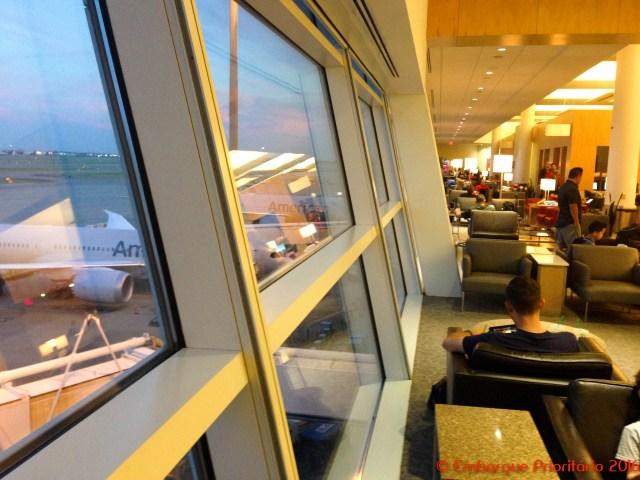 American Airlines Admirals Clube no Aeroporto de Dallas
