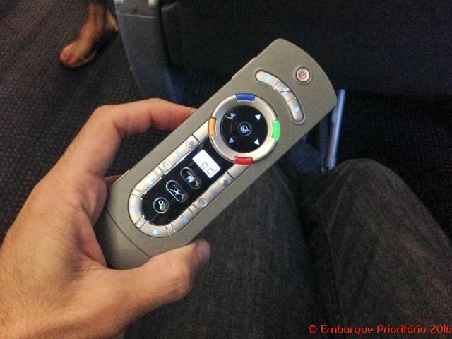 Primeira classe (interna) da American Airlines de Dallas para Cancun