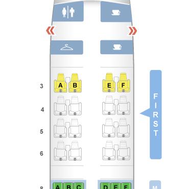 Primeira Classe (Interna) Da American Airlines De Cancún para Miami