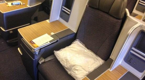 Classe executiva da American Airlines de Dallas para Honolulu