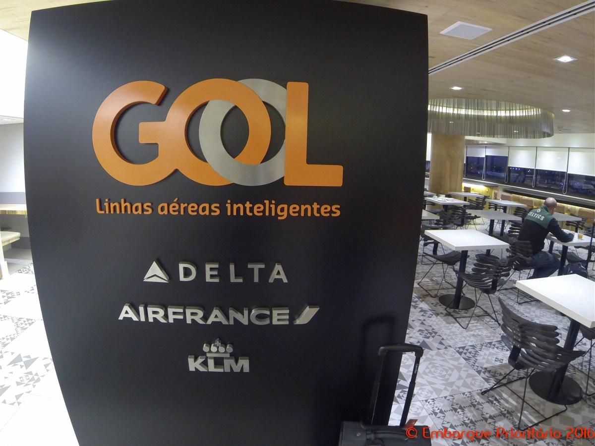 Sala Vip Smiles no Terminal 2 do aeroporto de São Paulo Guarulhos