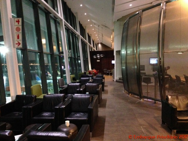 Sala Vip South African Airways na Cidade do Cabo