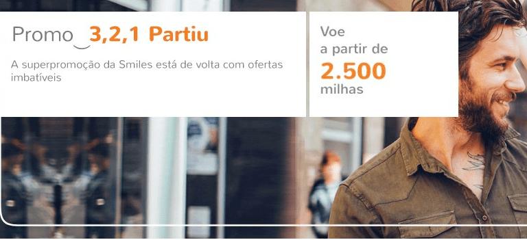 """Smiles oferece passagens para São Paulo, Brasília e Buenos Aires na """"Promo 3, 2, 1 Partiu!"""""""