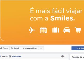 Smiles: clientes já podem emitir passagens diretamente pelo Facebook