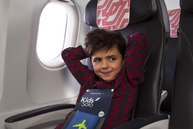 Air France dá dicas para manter as crianças entretidas antes e durante uma viagem de avião