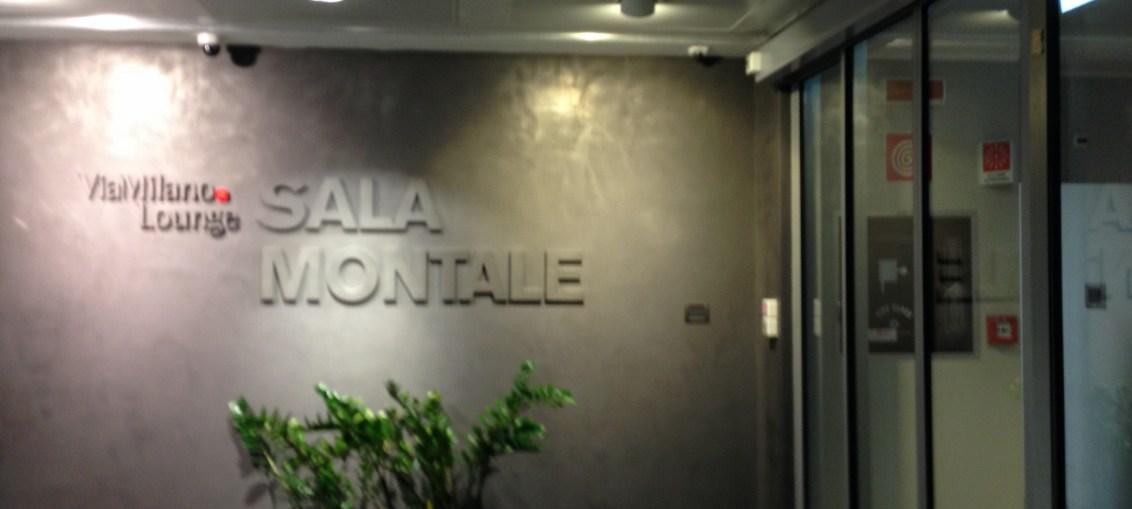 Sala Vip Montale no aeroporto de Milão Malpensa, Itália