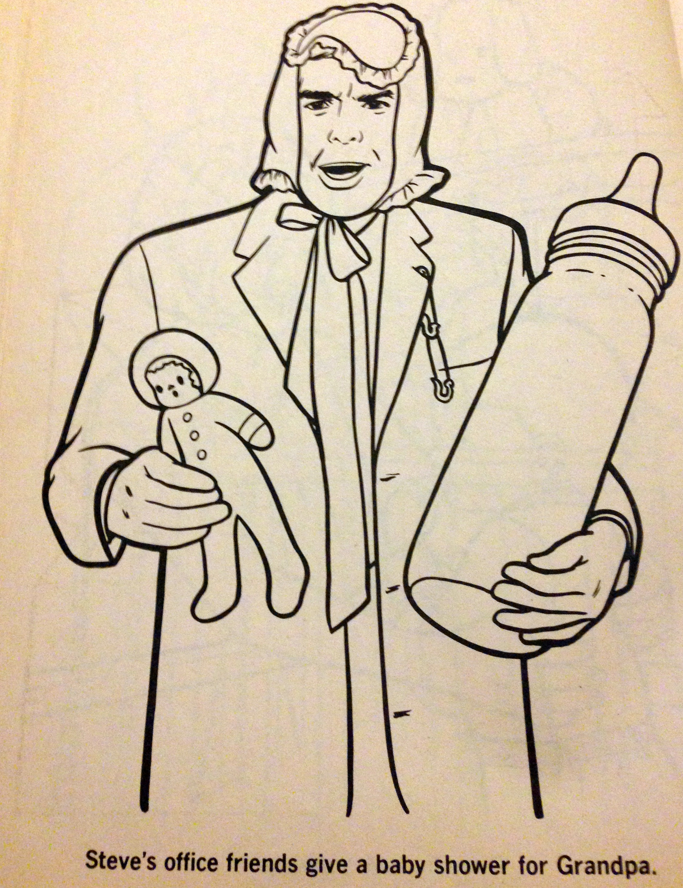 vintage coloring books embarrassing