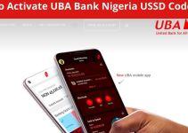 How To Activate UBA Bank Nigeria USSD Code