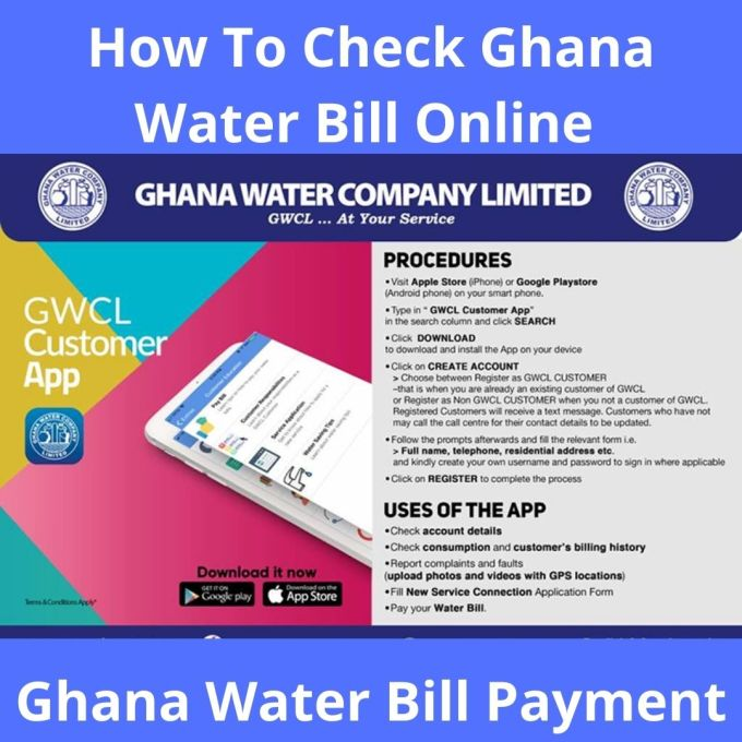 How To Check Ghana Water Bill Online