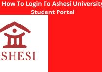 How To Login To Your Ashesi University Student Portal – Login To Ashesi Account