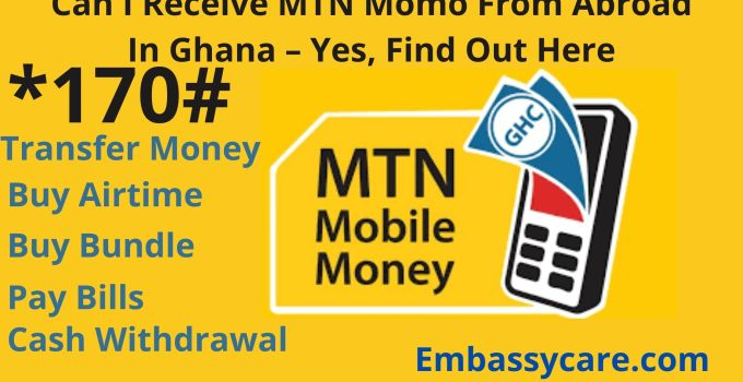 Can I Receive MTN Momo From Abroad In Ghana