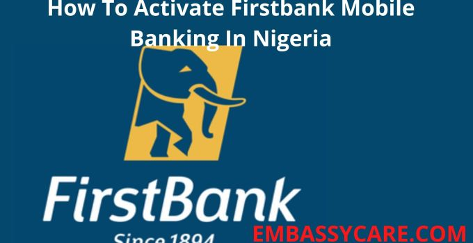 How Do I Activate Firstbank Mobile Banking, Banking Transactions On Your Phone