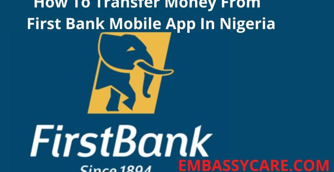 How Do I Transfer Money From My First Bank Mobile App – Do Your Money Transfer With First Mobile App