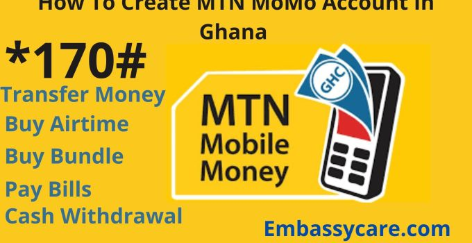 How To Create MTN MoMo Account In Ghana