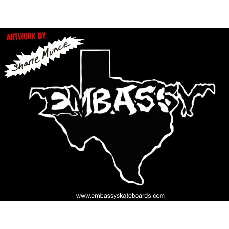 Embassy Skateboards TEXAS LOGO T-Shirt