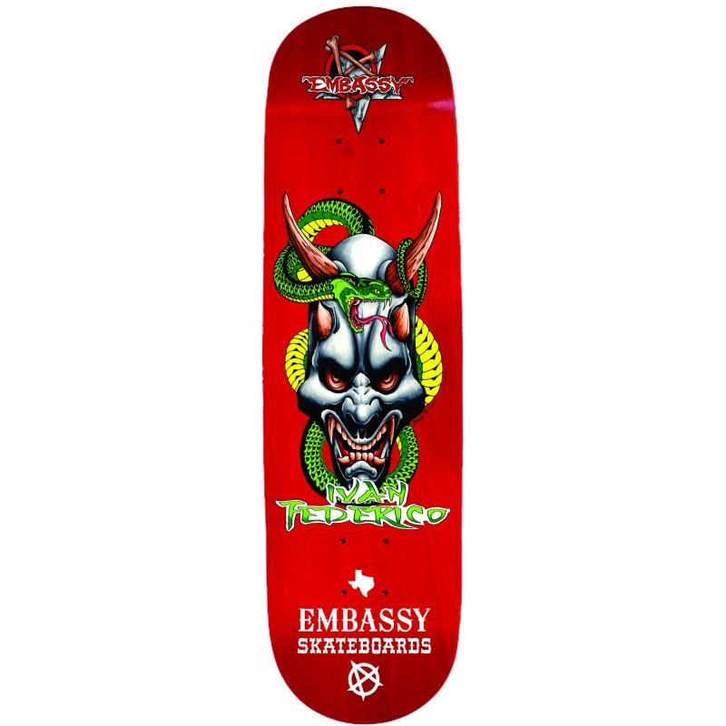 "Embassy Skateboards Ivan Federico ""PRO"" Model"