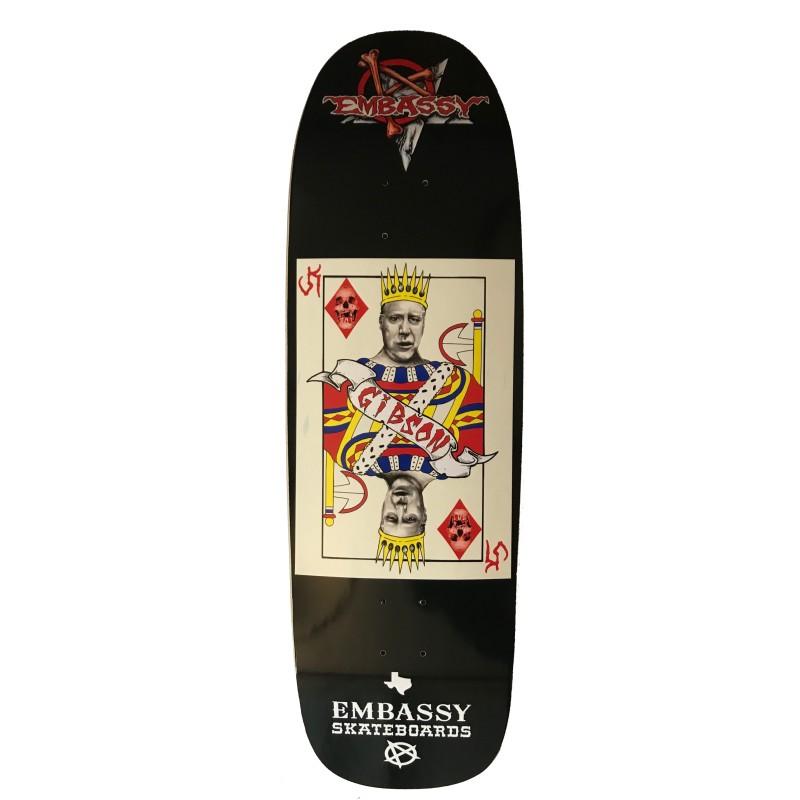 Embassy Skateboards, John Gibson, Texas Card Series
