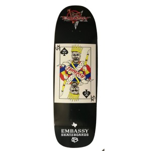 Embassy Skateboard, Craig Johnson, Texas Card Series