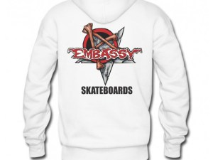 Embassy Skateboards Munce Logo Heavy Hoodie