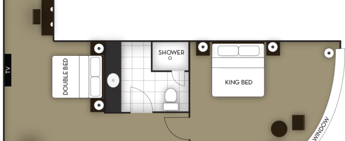 Hotel Suite Room Floor Plan