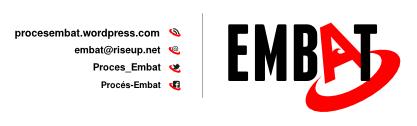 Correu electrònic del Procés Embat: embat@riseup.net