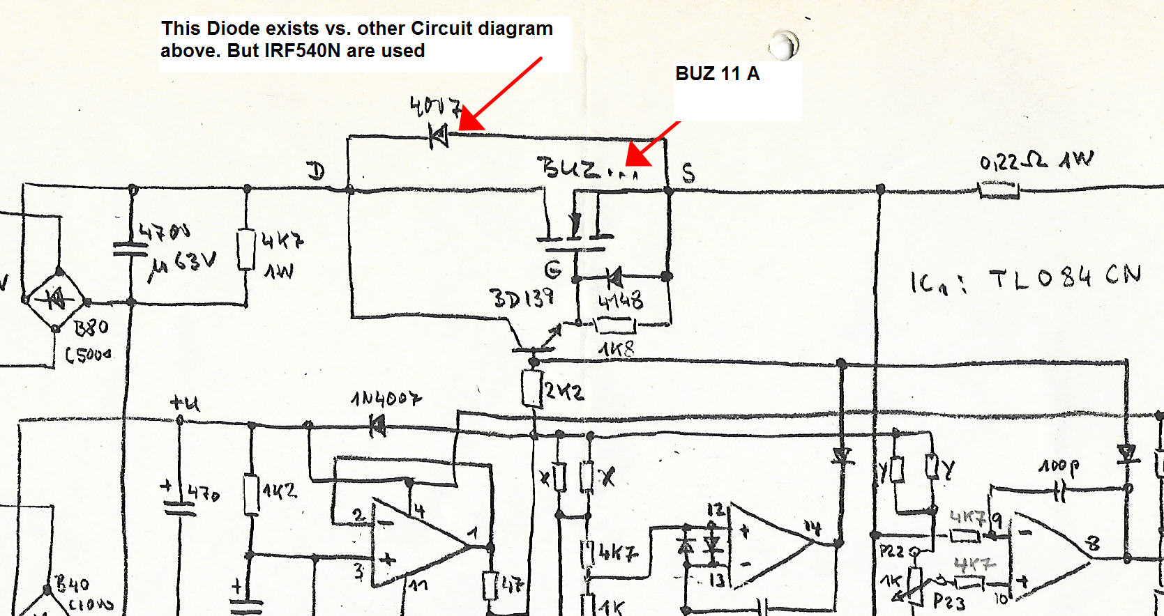 Some huge problems paralleling MOSFETs (Linear Power