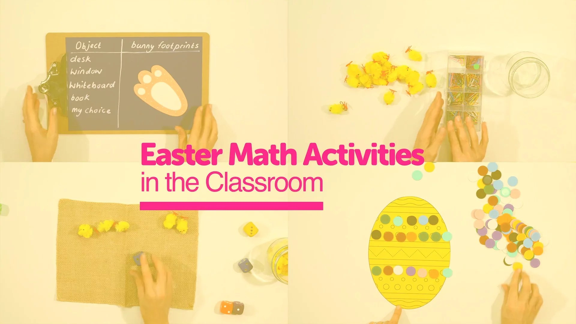 Easter Math Activities for the Classroom - Easter Fun with Purpose. [ 720 x 1280 Pixel ]