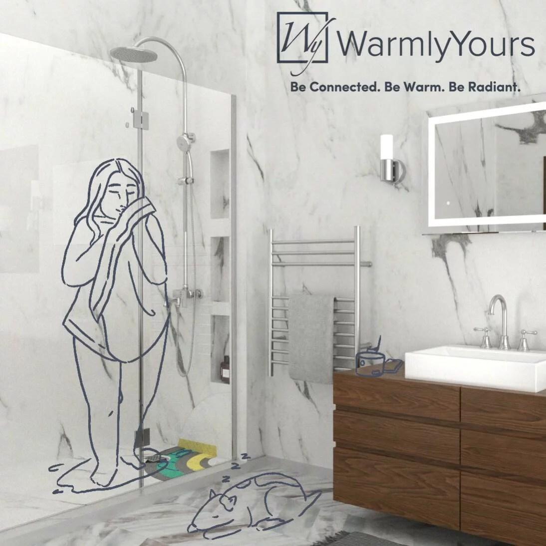 shower waterproofing and electric floor heating kits