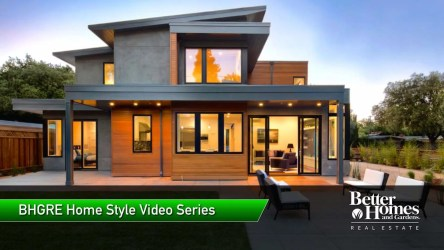 Contemporary / Modern Homes Design Style & Houses For Sale