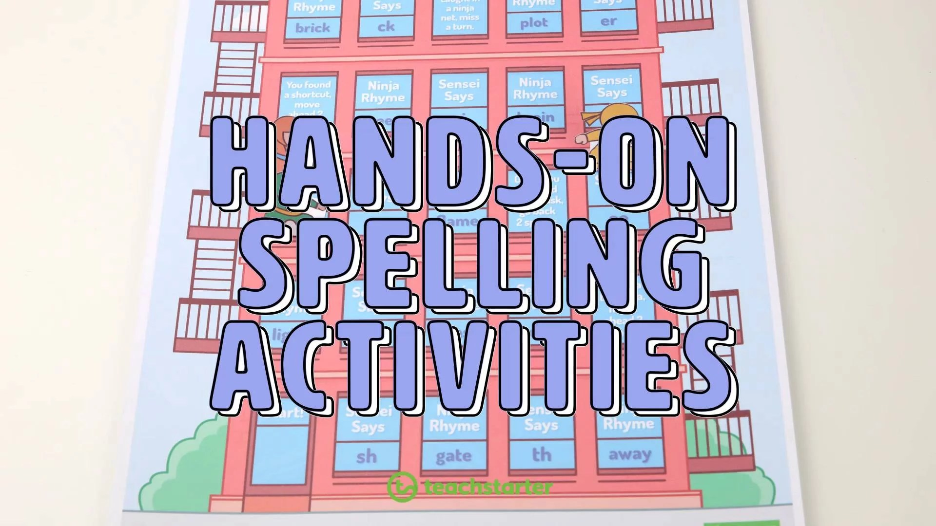 14 Fun Spelling Activity Ideas to Use in the Classroom   Teach Starter [ 720 x 1280 Pixel ]