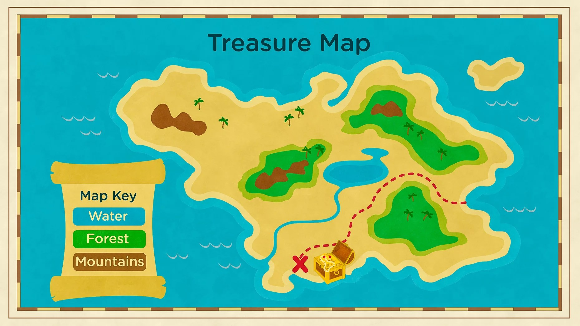 small resolution of Maps of Landforms   Landforms VIDEO for Kids   Grades K-2