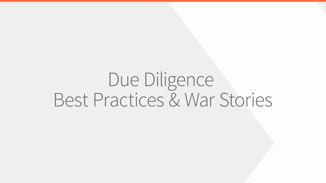 What Is Due Diligence  Firmex