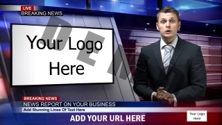 World News Logo Reveal