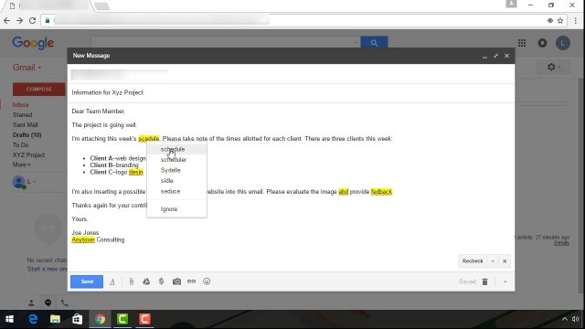 How to Send an Email With Gmail