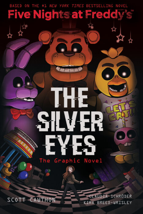 Five Nights At Freddy's: The Silver Eyes : nights, freddy's:, silver, Nights, Freddy's:, Silver, (Graphic, Novel), Scott, Cawthon;Kira, Breed-Wrisley, Paperback, Parent, Store